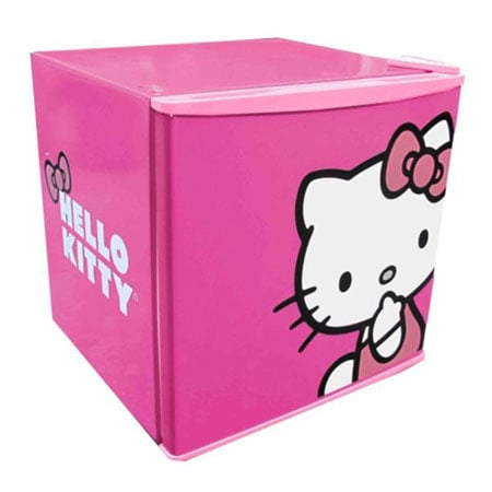Hello Kitty compact refrigerator ($117)