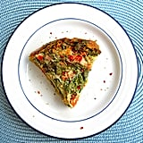 Crustless Chickpea Quiche