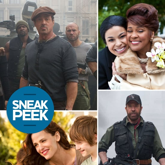 Movie Sneak Peek: The Expendables 2, Sparkle, & The Odd Life of Timothy Green