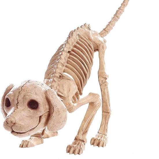 Dog-Skeleton Halloween Decor