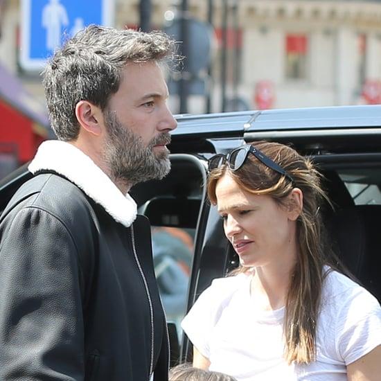 Jennifer Garner and Ben Affleck Out in London May 2016