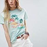 ASOS Postcard-Print T-Shirt