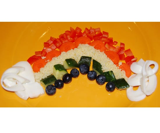 An Edible Rainbow