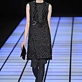 Review and Pictures of Emporio Armani Autumn Winter 2012 Milan Fashion Week Runway Show