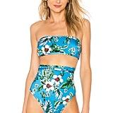Diane von Furstenberg Straight Bandeau Bikini