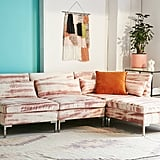 Urban Outfitters Cecilia Printed Velvet Sectional