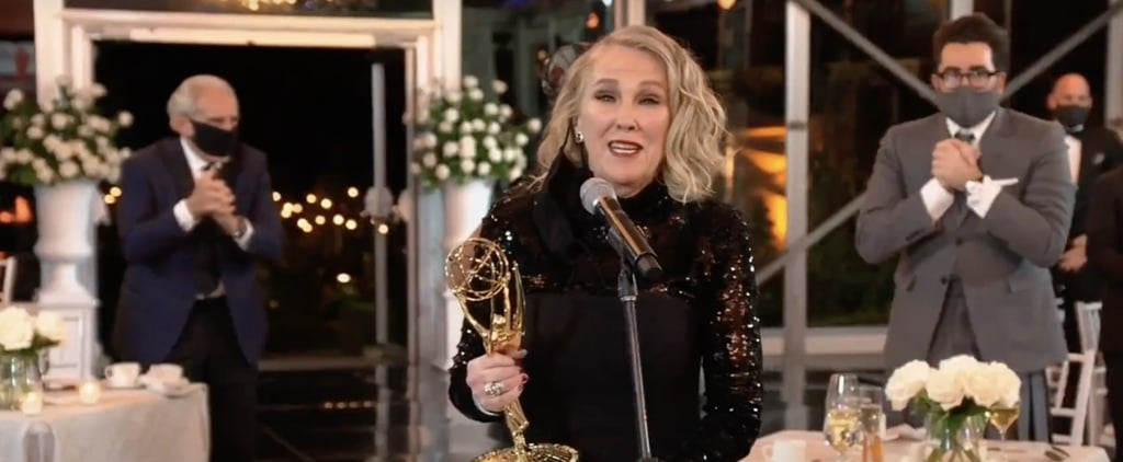 Catherine O'Hara Thanks Schitt's Creek Makeup Team at Emmys
