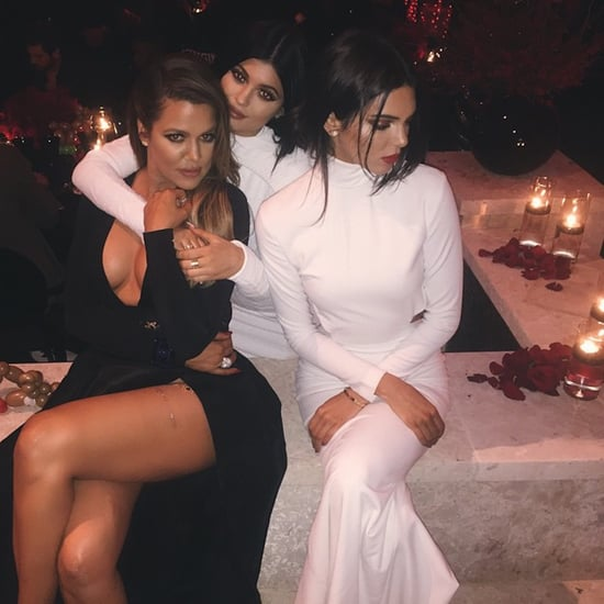 Kardashian Family Christmas Pictures