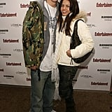 Channing and Jenna bundled up for the 2006 Sundance Film Festival.
