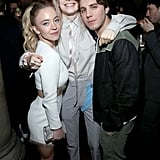 Sydney Sweeney, Hunter Schafer, and Lukas Gage at EW's 2020 SAG Awards Preparty