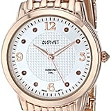 August Steiner Swiss Quartz Rose Gold Watch