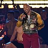 Dwayne Johnson at the 2019 MTV Movie and TV Awards