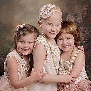 Girls Recreate Viral Cancer Photo