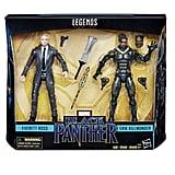 Erik Killmonger and Everett Ross Figurines