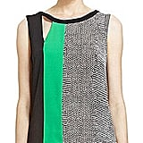 Keep cool in this breezy colorblock tank. BCBGMAXAZRIA Elicia Colorblock Tank ($138)