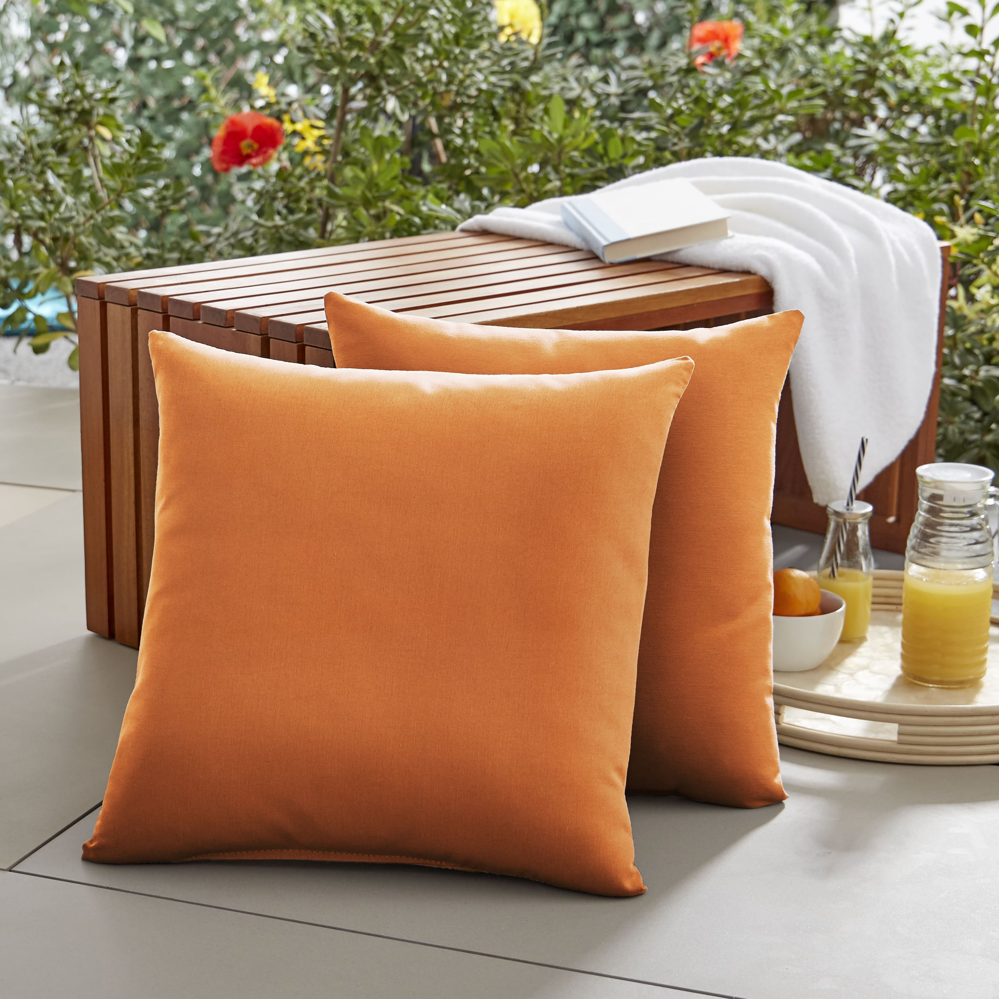 Lylah IndoorOutdoor Throw Pillows