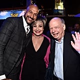 Keegan-Michael Key, Annie Potts, and Wallace Shawn at the Toy Story 4 Premiere