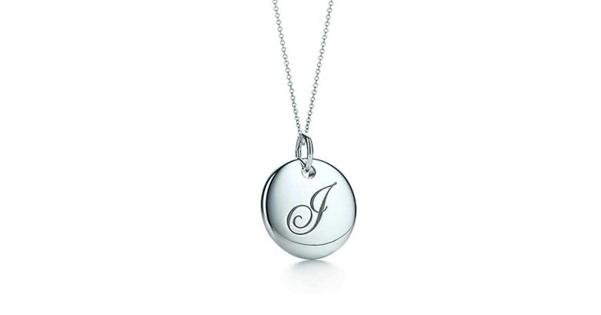 99f52d843 Tiffany & Co. Initial Necklace | Taylor Swift's J Necklace | POPSUGAR  Fashion Photo 5