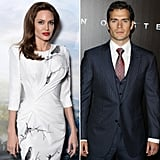 Angelina Jolie and Henry Cavill