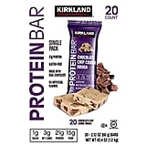 Kirkland Signature Protein Bars in Chocolate Chip Cookie Dough