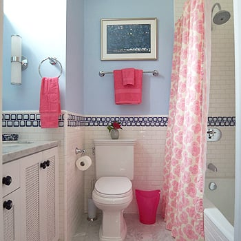 Kids bathroom decor ideas popsugar moms for Teen bathroom pictures