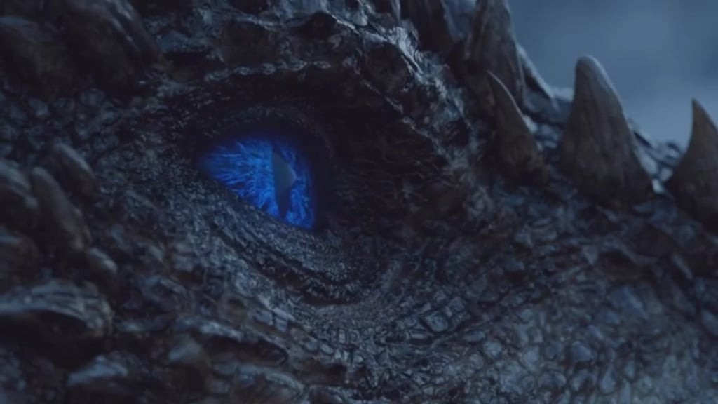 White Walker Dragon on Game of Thrones Reactions