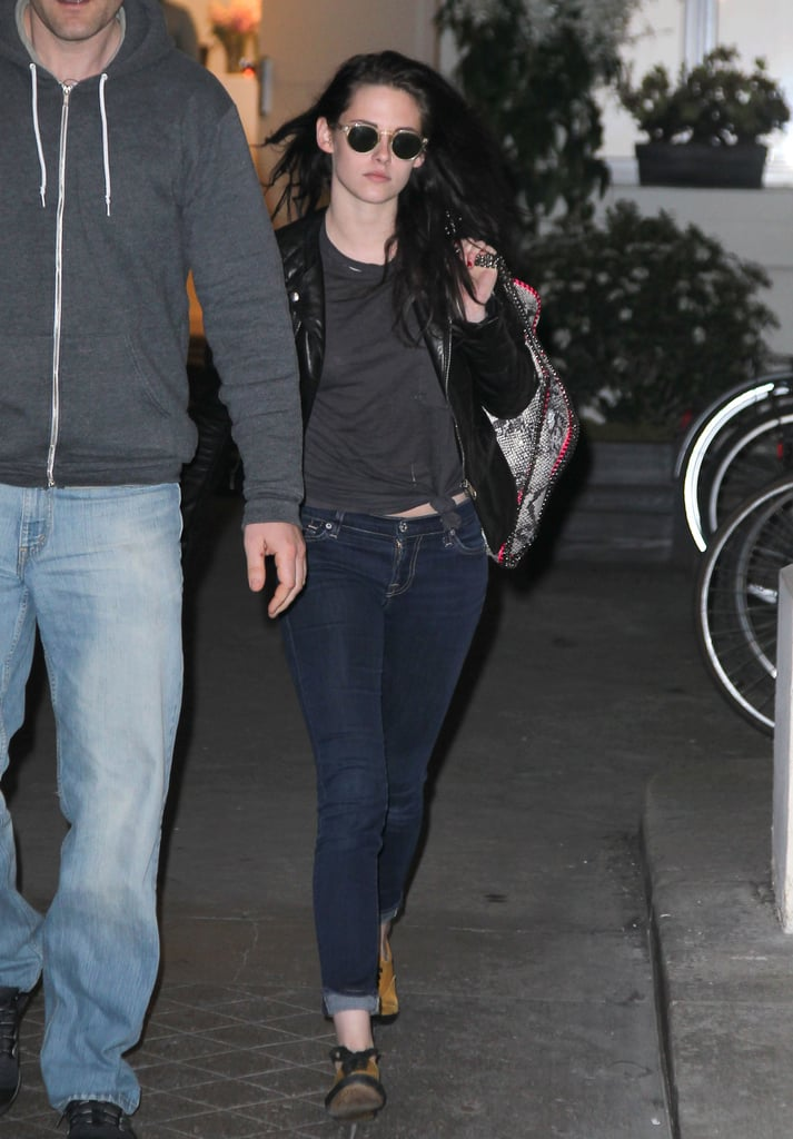 Kristen Stewart was out and about in France.