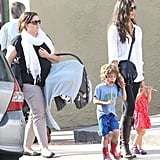 Camila Alves Debuts Baby Livingston During a Weekend With the Kids