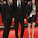 Jake Gyllenhaal and Charlotte Gainsbourg posed with Anton Corbijn.