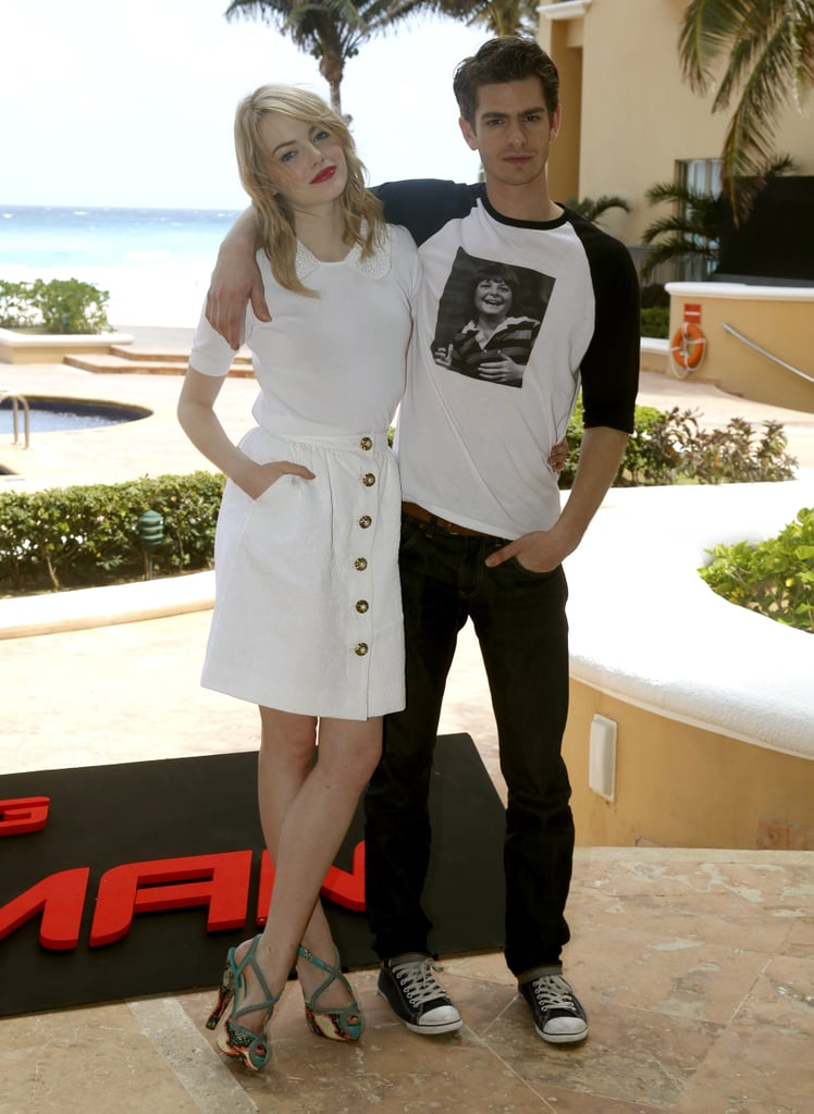 Andrew Garfield and Emma Stone Couple Up in Cancun For The Amazing Spider-Man