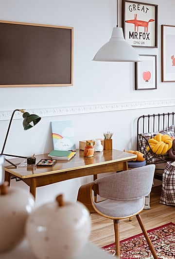 How to Revamp Your Kid's Workspace For the New School Year