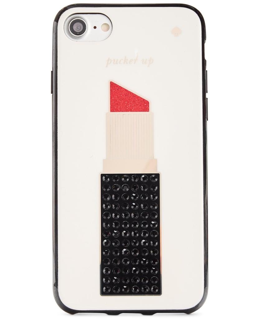 Kate Spade Jeweled Lipstick iPhone Case