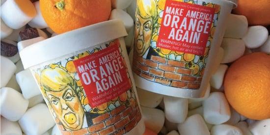 There's A New Trump-Flavored Ice Cream Called 'Make America Orange Again'