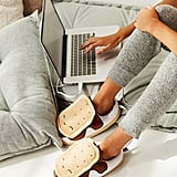 Smoko S'mores USB Heat-Up Plush Slippers