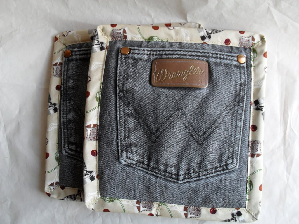 Denim Pot Holders