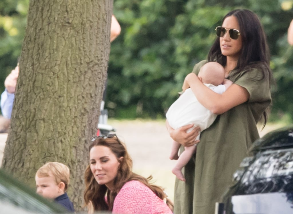 Kate Middleton and Meghan Markle With Kids at Polo Match