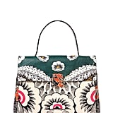 Valentino Printed Leather Top Handle Bag ($3,645)
