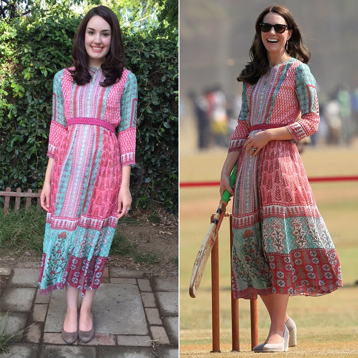 Girl Who Copies Kate Middleton's Outfits