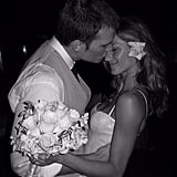 Gisele Bundchen and Tom Brady Wedding Pictures