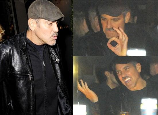 04/12/08 George Clooney, Matt Damon and Olivier Martinez