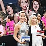 Scarlett Johansson Keeps Her Promise, Parties With Look-Alike Grandma