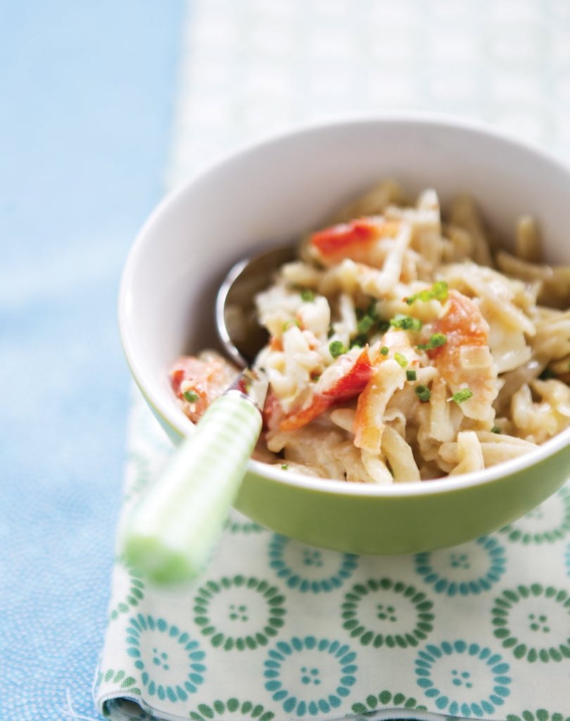 Creamy Orzo With Shredded Crabmeat