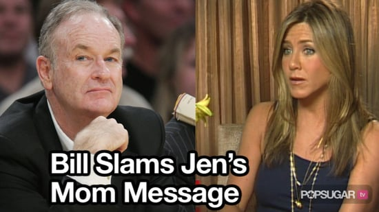 Video of Bill O'Reilly Talking About Jennifer Aniston and Single Motherhood