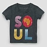 Toddlers' Short Sleeve Soul Pattern T-Shirt