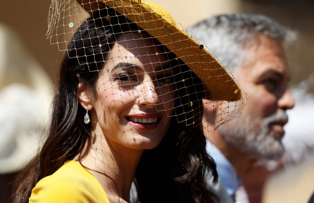 Amal Clooney Royal Wedding Makeup
