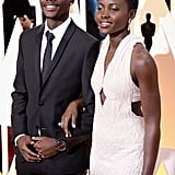 Lupita Nyong'o brought her younger brother, Peter, as her Oscars date for the second year in a row.