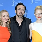 Emma Stone and Nicolas Cage were in Berlin.