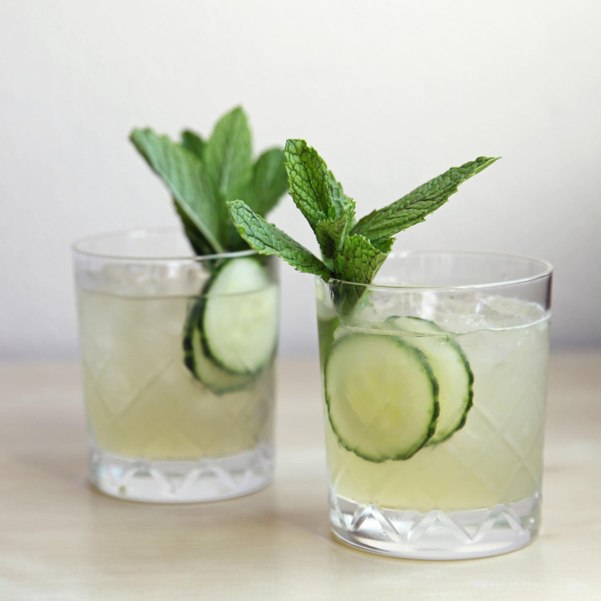 Cucumber-Mint Gin Cocktail | POPSUGAR Food