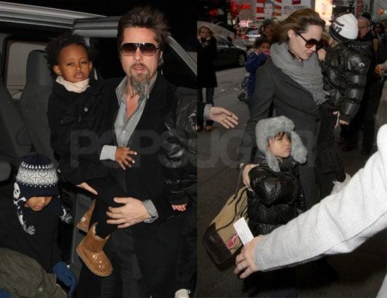 Photos of Brad Pitt And Angelia Jolie