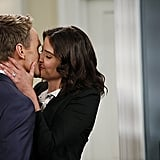 How I Met Your Mother Cobie Smulders and Neil Patrick Harris on How I Met Your Mother.